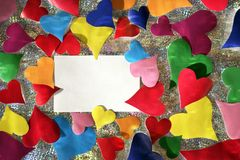 Colors of love Stock Photography
