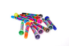 Colors markers Stock Photography