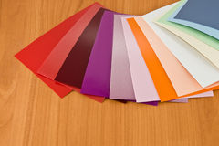 Colors of the material Stock Photo