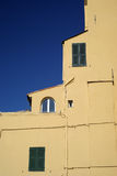 Colors of Mediterranean architecture Stock Image