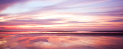 colors morgonsoluppgång Arkivfoto