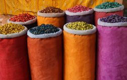 The colors of Morocco Royalty Free Stock Images