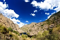 Colors of Mountains in Corsica Stock Images