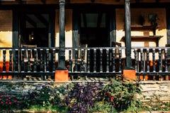 colors nepal arkivbilder
