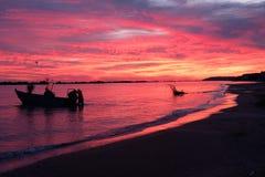 The colors of a new day .. Francavilla al Mare ch Italy. Francavilla al Mare ch Italy Stock Image