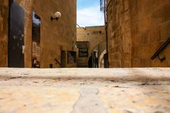 Colors of the old city of Jerusalem royalty free stock photos