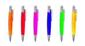 colors olika pennor Royaltyfri Bild