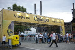 Colors of Ostrava 2013 Royalty Free Stock Photos