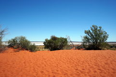 Colors of the Outback. View of the Outback, going to Uluru, Australia stock photography