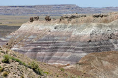 Colors of the Painted Desert Royalty Free Stock Photo