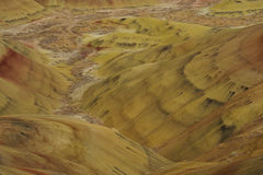 Colors of painted hills Stock Photos