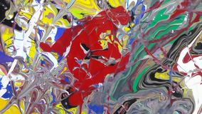 Colors. Paintings Acrylic colors for digital printing stock images