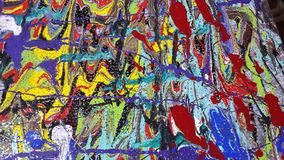 Colors. Paintings Acrylic colors for digital printing stock photos