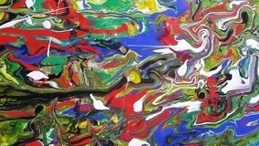 Colors. Paintings Acrylic colors for digital printing royalty free stock image