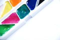 Colors paints Stock Image