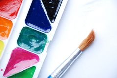 Colors paints Royalty Free Stock Photography