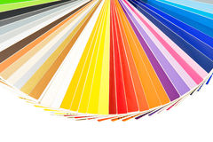 Colors palette isolated Royalty Free Stock Photo