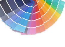Colors palette Royalty Free Stock Image