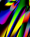 colors paletten huvud Arkivbild