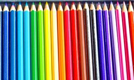 Colors pencil Stock Photography