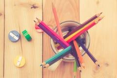 Colors pencils Royalty Free Stock Photos