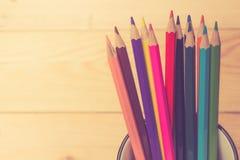 Colors pencils Stock Images
