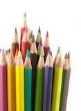 Colors pencils set Stock Image
