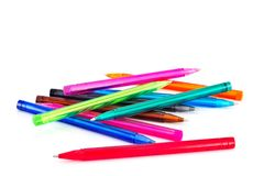 Colors pens Royalty Free Stock Photo