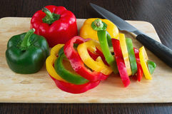 Colors pepper Royalty Free Stock Photo