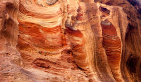Colors of Petra Royalty Free Stock Photos