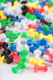 Colors push pins Stock Photo