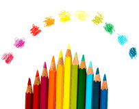 Colors of the Rainbow Stock Images