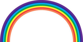 colors regnbågen Royaltyfri Bild