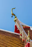 Colors roof wat Royalty Free Stock Images