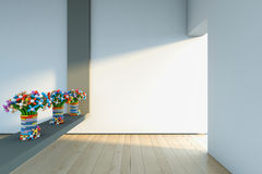 Colors in the room Stock Photography