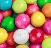 Colors round bubblegum background Stock Photo