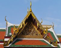 The colors of the Royal Palace in Bangkok Stock Photography