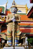The colors of the Royal Palace in Bangkok Stock Image