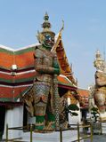 The colors of the Royal Palace in Bangkok Royalty Free Stock Photo