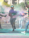 The colors run tropicolor world tour 2016,bucharest Stock Image