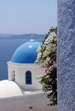 Colors in Santorini Stock Photography