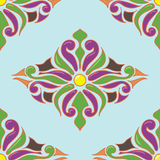 Seamless eastern ornament Royalty Free Stock Image