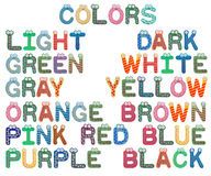 Colors Set for Children royalty free stock images