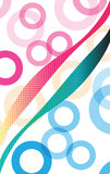Colors of the Sexes Abstract Background Stock Images