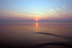 colors solnedgång arkivbilder