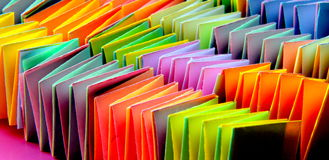 Colors of the spring. Paper harmonics in lovely spring colors Royalty Free Stock Photo