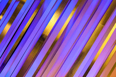 Colors Visual Art Background. Colors of purple reflecting off sixty degree strips graphic fine art style design colors visual background frame Stock Image