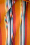 Colors in Stripes. Print shirt close up of colors in vertical lines Stock Photos