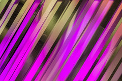 Colors Strips Art Design Background. Colors of purple green graphic art reflecting off sixty degree cardboard strips for graphic  fine arts style design Royalty Free Stock Images