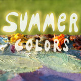 Colors of summer Royalty Free Stock Image